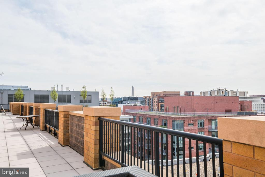 Rooftop Deck - Come on Up & Practice Yoga! - 910 M ST NW #525, WASHINGTON