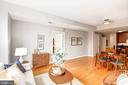 Living Rm, Dining Area, & Kitchen - Open Concept! - 910 M ST NW #525, WASHINGTON