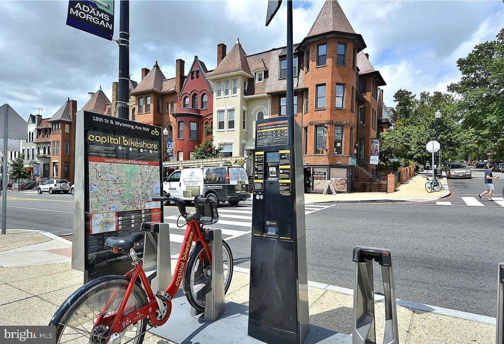Great access to Capital Bikeshare - 1701 KALORAMA RD NW #206, WASHINGTON
