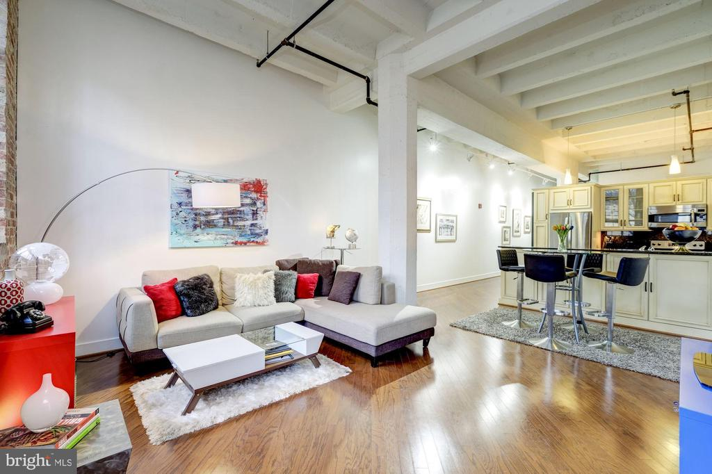 Ultra chic loft in Adams Morgan! - 1701 KALORAMA RD NW #206, WASHINGTON