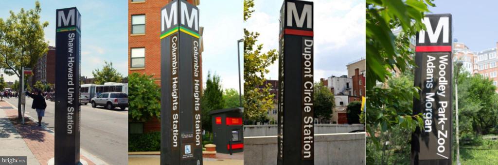 Close to four metro stations! - 1701 KALORAMA RD NW #206, WASHINGTON