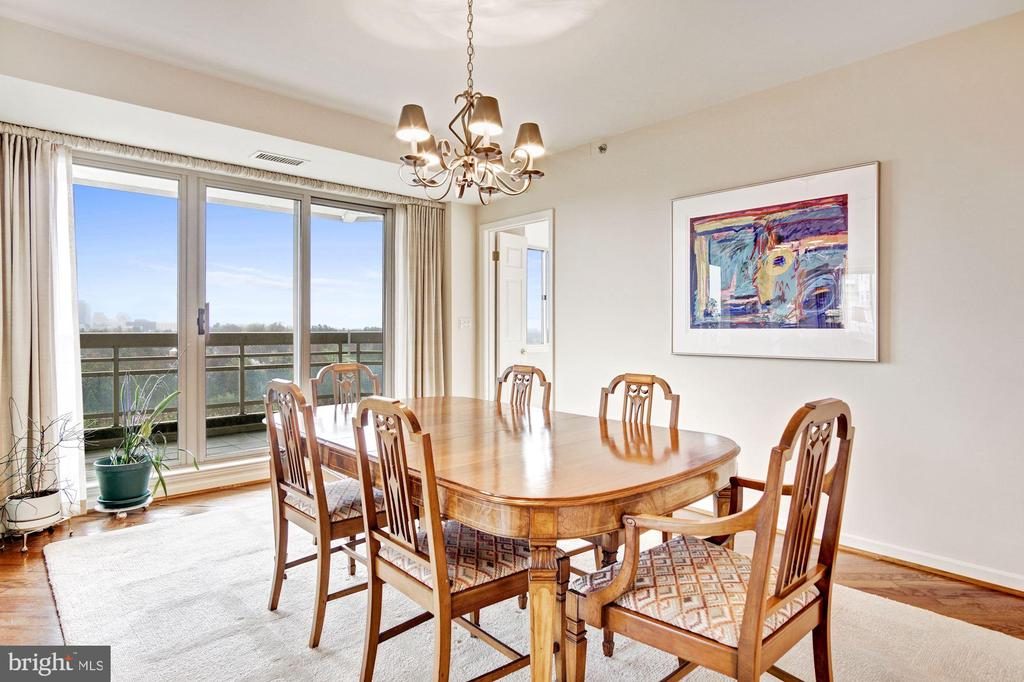 Dining room - 5600 WISCONSIN AVE #1408, CHEVY CHASE