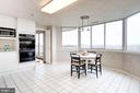 Spacious kitchebn - 5600 WISCONSIN AVE #1408, CHEVY CHASE