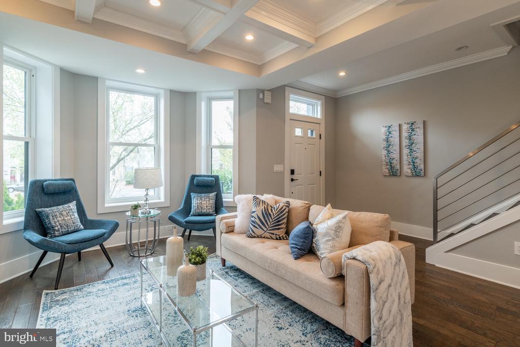 Living Room - 1421 NORTH CAROLINA AVE NE, WASHINGTON
