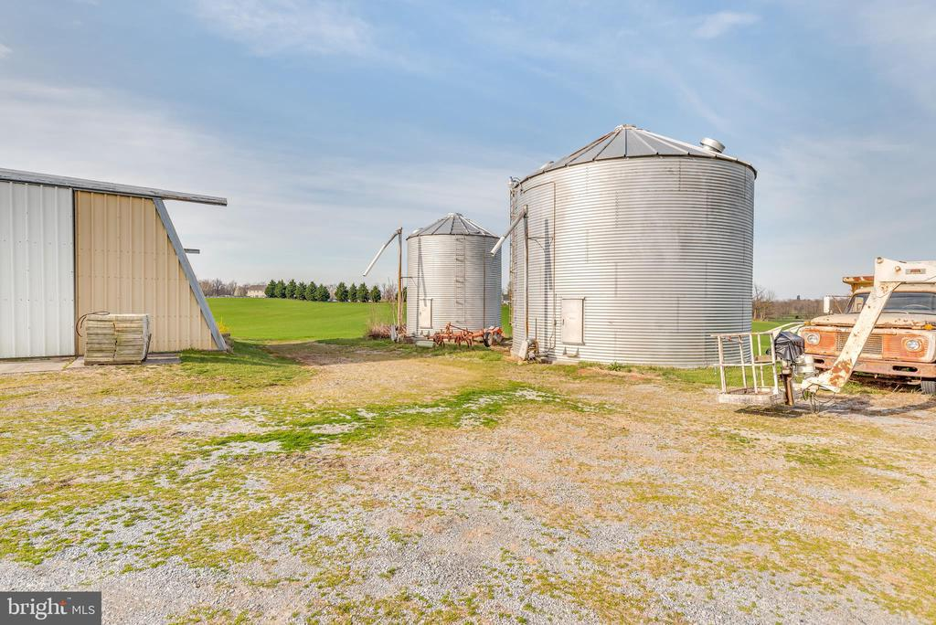 Farm includes two working silos for your use - 1007 PEMBROKE WAY, CHARLES TOWN