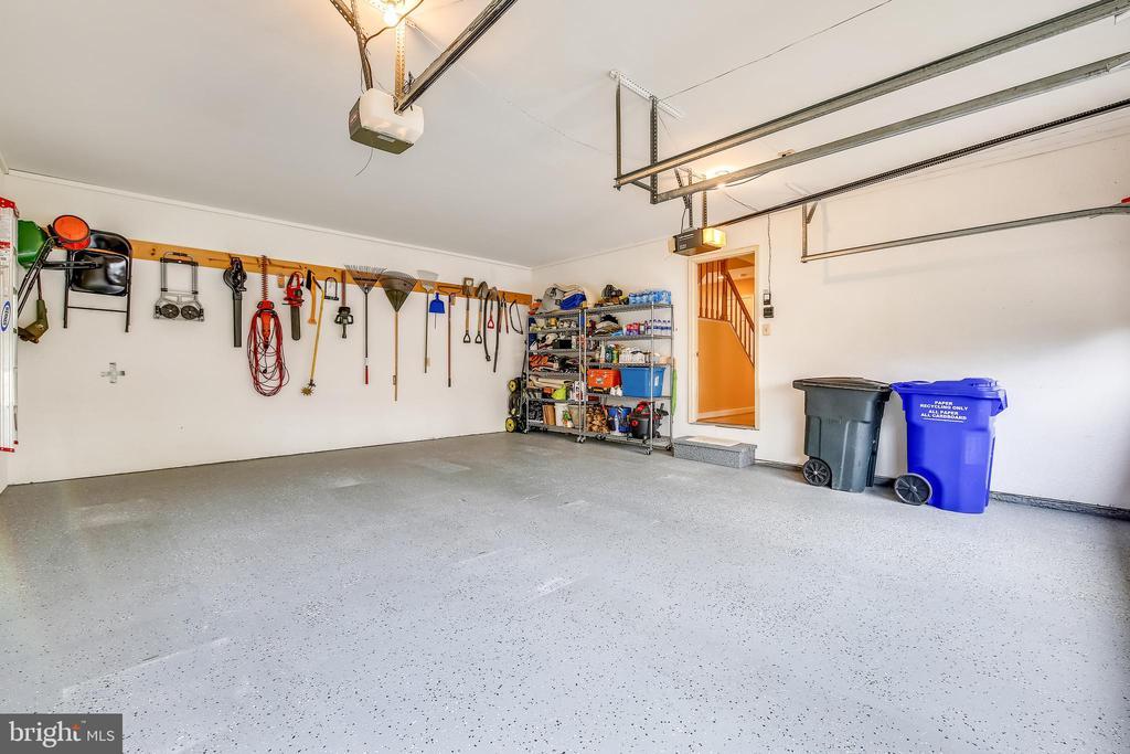 two car garage - 738 SONATA WAY, SILVER SPRING