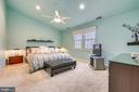 Master Suite w/cathedral ceiling - 738 SONATA WAY, SILVER SPRING