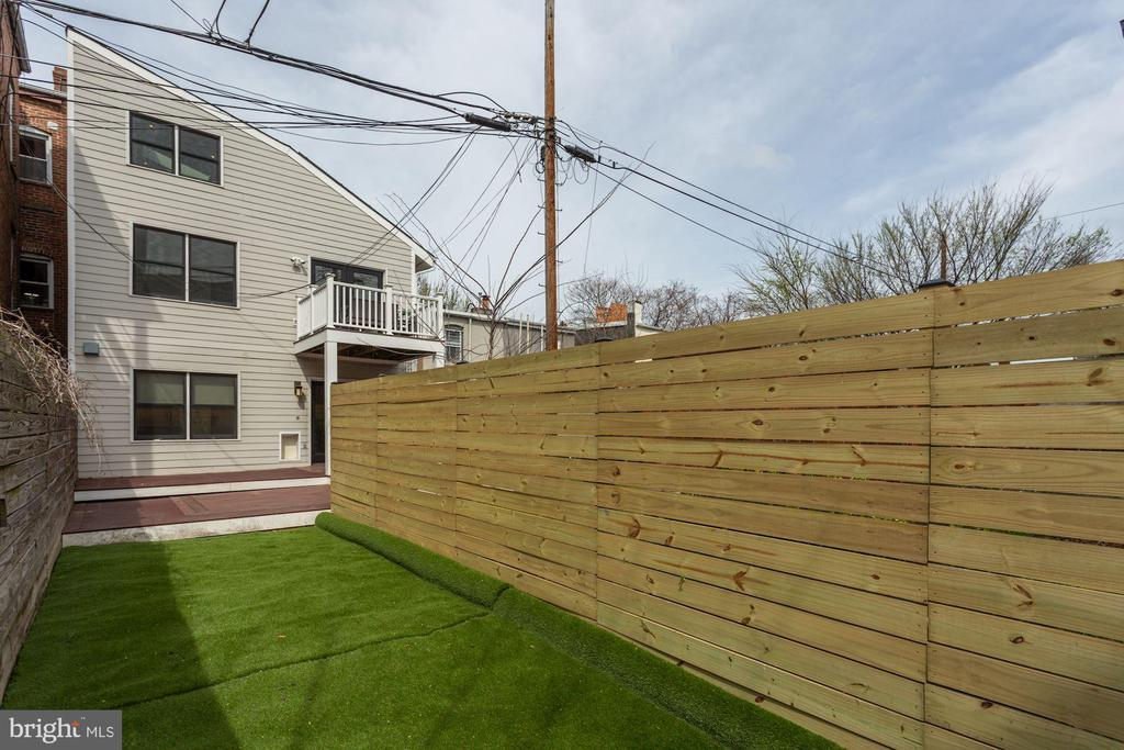 Willing to discuss pro install of turf after COVID - 420 RIDGE ST NW, WASHINGTON