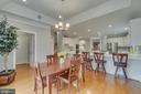 Eat-in area in kitchen - 20464 SWAN CREEK CT, STERLING