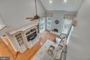 Overlooking family room - 20464 SWAN CREEK CT, STERLING
