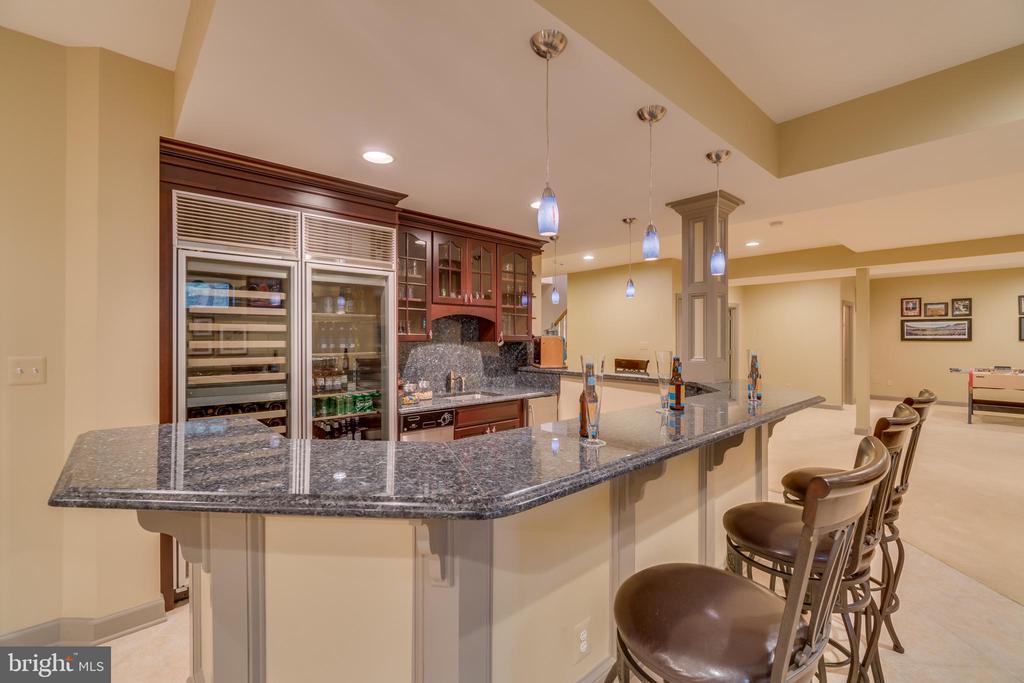 Lower level bar area - 20464 SWAN CREEK CT, STERLING