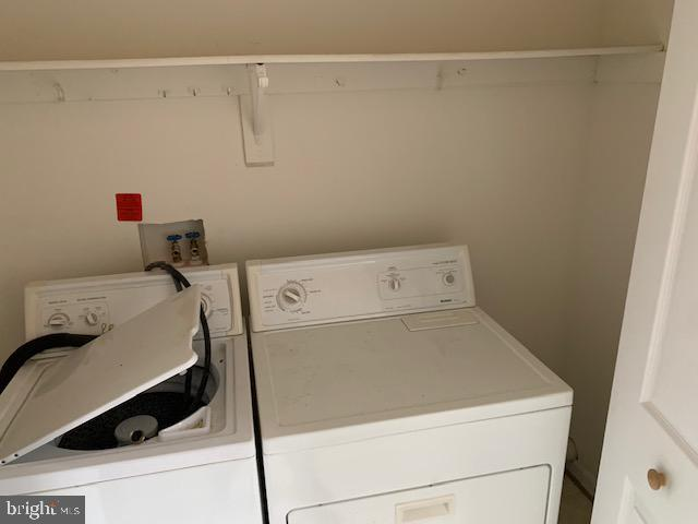 Laundry closet - 2614 RUFFIN DR, FREDERICKSBURG