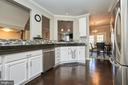 Kitchen with view to dining area - 8932 ATATURK WAY, LORTON