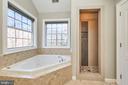 Soaking tub and shower - 8932 ATATURK WAY, LORTON