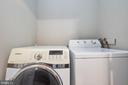 Laundry area lower level - 8932 ATATURK WAY, LORTON