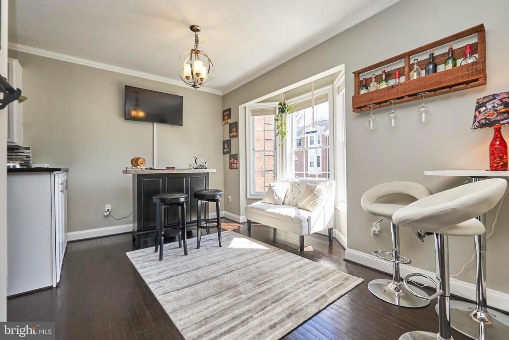 Living room - 8932 ATATURK WAY, LORTON
