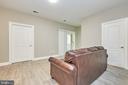 Recreation room to rear patio - 8932 ATATURK WAY, LORTON