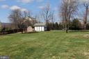 Alt view of backyard - 11833 PURCELL RD, LOVETTSVILLE