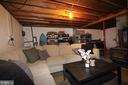 Unfinished basement - 11833 PURCELL RD, LOVETTSVILLE