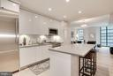 Stunning Contemporary European-style kitchen - 45 SUTTON SQ SW #704, WASHINGTON
