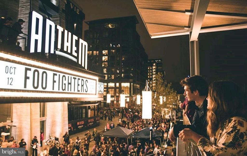 Enjoy world-renowned entertainment at The Anthem - 45 SUTTON SQ SW #704, WASHINGTON