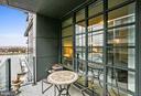 Enjoy the outdoors on the private balcony - 45 SUTTON SQ SW #704, WASHINGTON