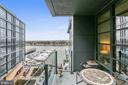 Views from the private balcony - 45 SUTTON SQ SW #704, WASHINGTON