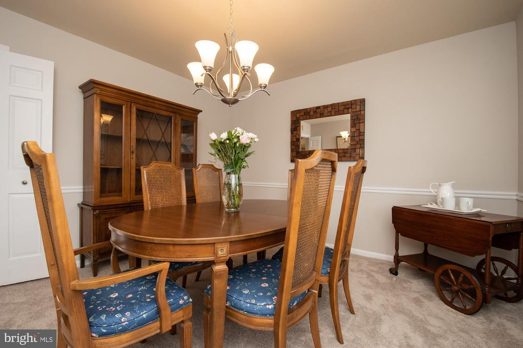 Dining room - 7 PHILLIPS DR NW, LEESBURG