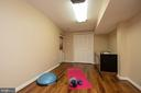 Exercise room in basement - 7 PHILLIPS DR NW, LEESBURG