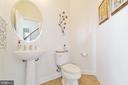 Main Floor Powder Room - 4507 BRIDLE RIDGE RD, UPPER MARLBORO