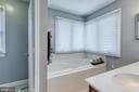 Master Bathroom - 5 EMERSON CT, STAFFORD
