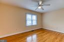 Bedroom 4 with gleaming hardwood floors - 5 EMERSON CT, STAFFORD