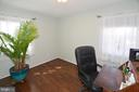 Second bedroom being used as an office. - 314 MANASSAS DR, MANASSAS PARK
