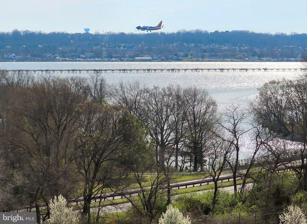 Zoomed from balcony - 3650 S GLEBE RD #651, ARLINGTON