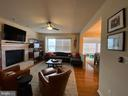 Family room off the kitchen - 108 E. STATION TER., MARTINSBURG