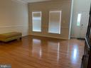 Gorgeous wood floors , formal living room - 108 E. STATION TER., MARTINSBURG
