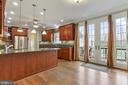 Gorgeous french doors leading out to the backyard. - 2375 BALLENGER CREEK PIKE, ADAMSTOWN