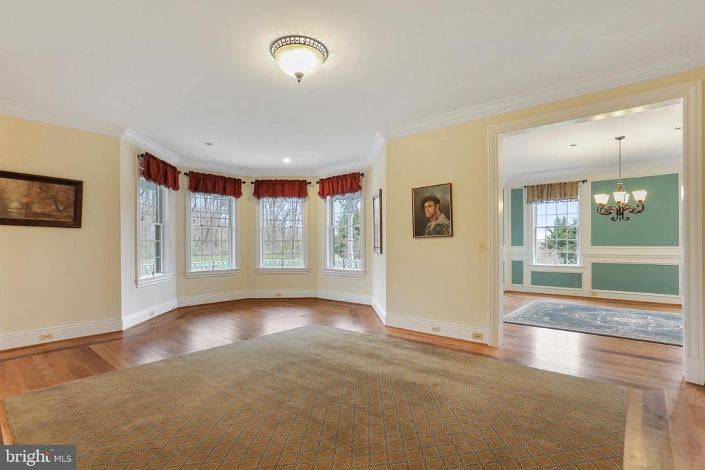 Family room that has reading nook with a view! - 2375 BALLENGER CREEK PIKE, ADAMSTOWN