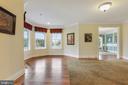 Beautiful, hardwood flooring throughout the home - 2375 BALLENGER CREEK PIKE, ADAMSTOWN