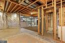 Unfinished basement with roughed in bath - 2375 BALLENGER CREEK PIKE, ADAMSTOWN