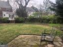 Side yard - 7007 CONNECTICUT AVE, CHEVY CHASE