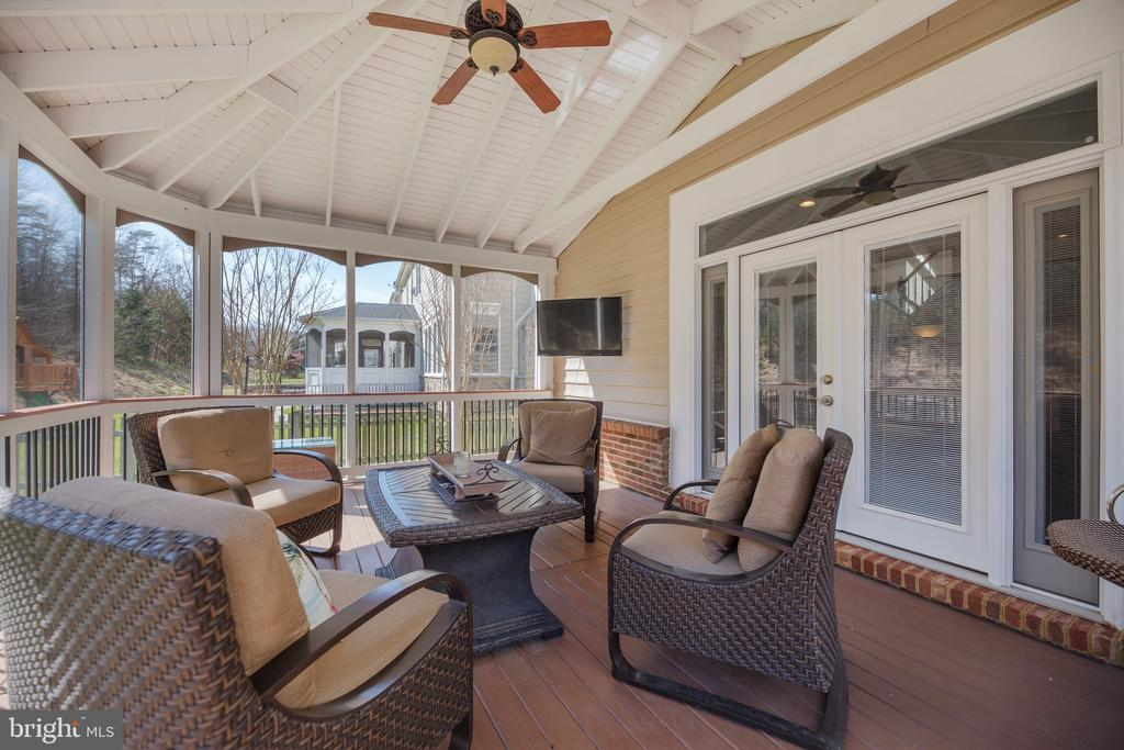 Year-round living on this screened in porch! - 18754 KIPHEART DR, LEESBURG