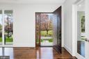 Extra tall Mahagony door - 31 N JACKSON ST, ARLINGTON