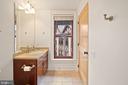 Ensuite Bathroom - 9610 DEWITT DR #PH412, SILVER SPRING
