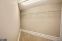 2nd Bedroom Walk-In Closet - 9610 DEWITT DR #PH412, SILVER SPRING