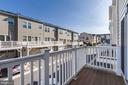 Second level balcony - 13411 WATERFORD HILLS BLVD, GERMANTOWN