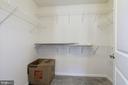 Master bedroom walk-in closet - 13411 WATERFORD HILLS BLVD, GERMANTOWN