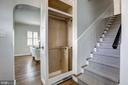 Amazing, custom pull out coat closet! - 2366 N OAKLAND ST, ARLINGTON