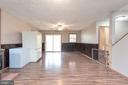 Recreation room in basement w/slider door to back - 6 ROSE ST, STAFFORD