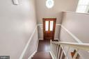 Staircase to front door - 6 ROSE ST, STAFFORD